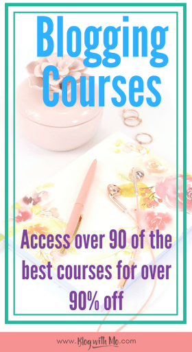 Access over 90 of the best blogging courses, ebooks and resources you can find for over 90% off the price of each and step up your blogging game
