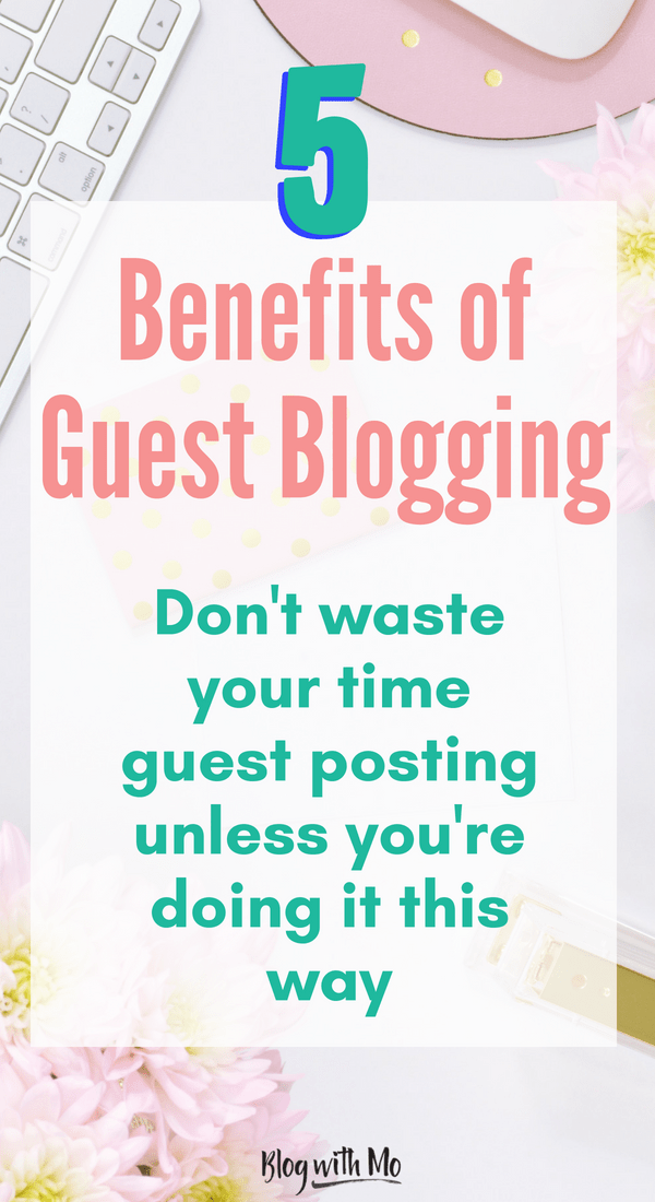 Guest blogging tips - how to build backlinks and SEO with guest blogging the right way.
