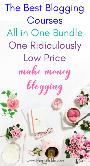 Access over 150 of the best blogging courses, ebooks and resources you can find for over 90% off the price of each and step up your blogging game. It's time to make money blogging and earn income online with the help of these blogging tools.