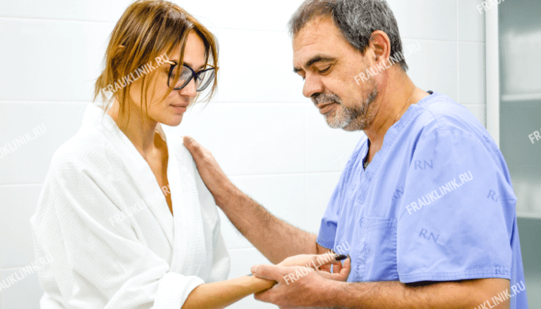 Алена Водонаева сделала пластику груди в Frau Klinik 3