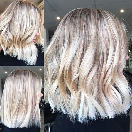 42 New Short Blonde Balayage Hair Color Blonde