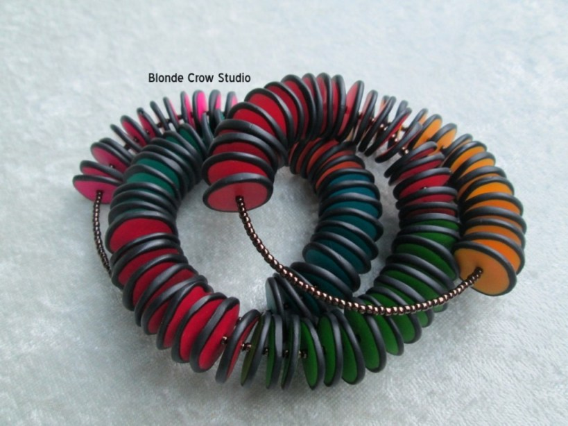 BCS Colored discs bracelet