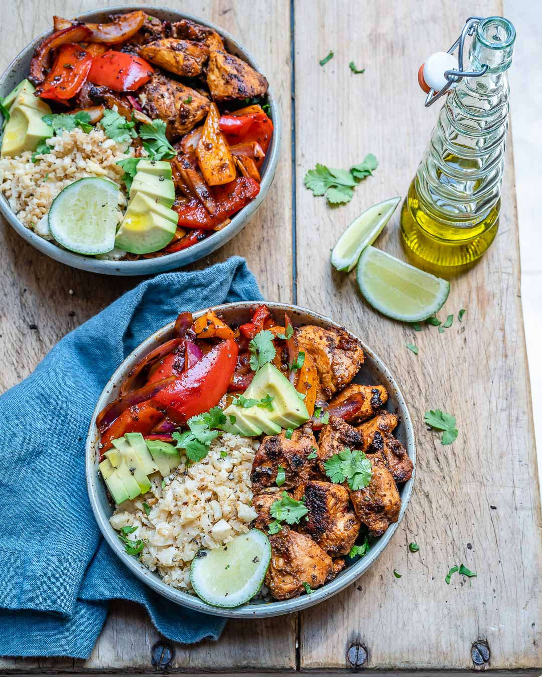 Chipotle Chicken Meal Prep Lunch Bowls