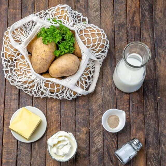 Reteta de Piure de Cartofi Pufos si Cremos
