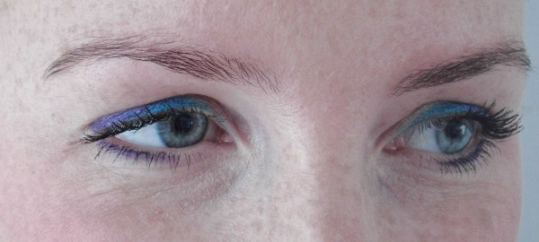 FOTD paars en blauw 2