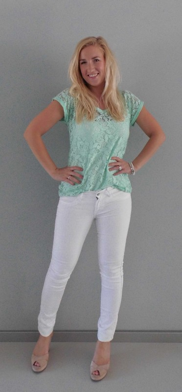 OOTD-white-wit-en-mint-green-kant-lace-summer-1