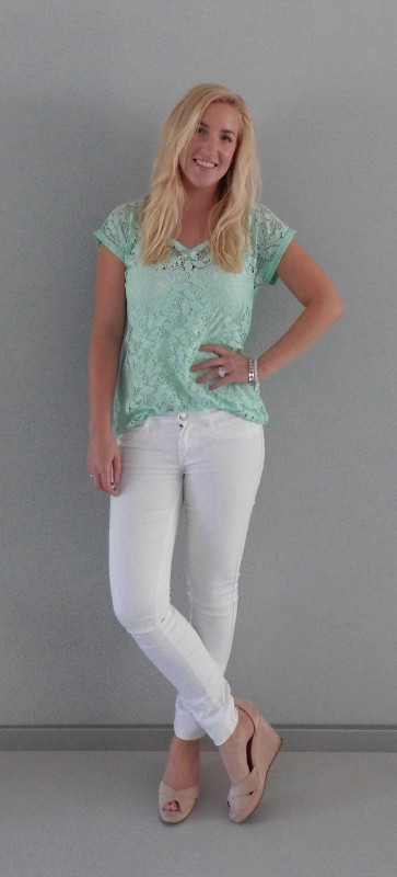 OOTD-white-wit-en-mint-green-kant-lace-summer-2