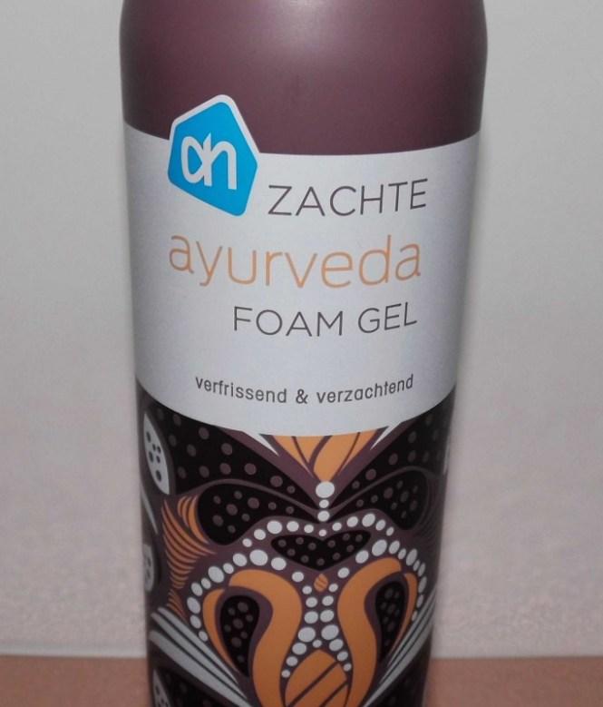 review-AH-albert-heijn-zacht-ayurveda-foam-shower-gel-budget-tip-3