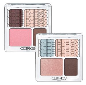 Catrice Limited Edition Nude Prism Nude eye colour quatro