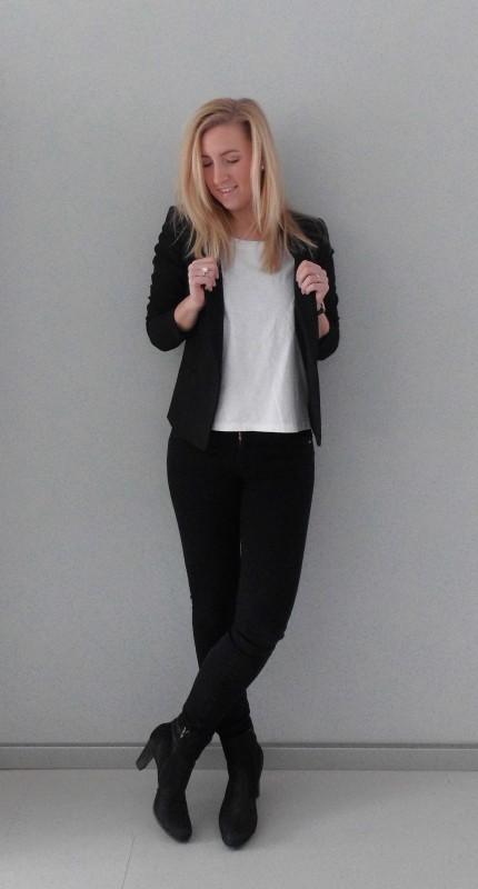 ootd-outfit-of-the-dat-what-im-wearing-black-white-zwart-wit-colbert-basic-work-werk-simpel-1