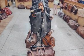 Ensemble Artisanal moroccan leather