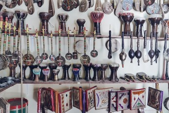Ensemble Artisanal music instruments morocco