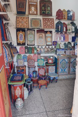 Ensemble Artisanal art morocco pantings