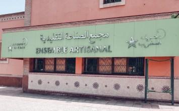 Ensemble Artisanal morocco marrakech artisanals