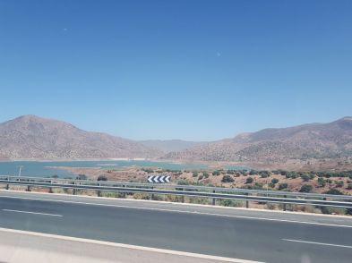 road morocco agadir view mountains