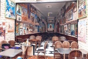 Patisserie Chez Driss, essaouira, paintings