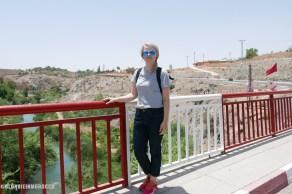 Lalla Takerkoust, bridge, girl, tourist, morocco