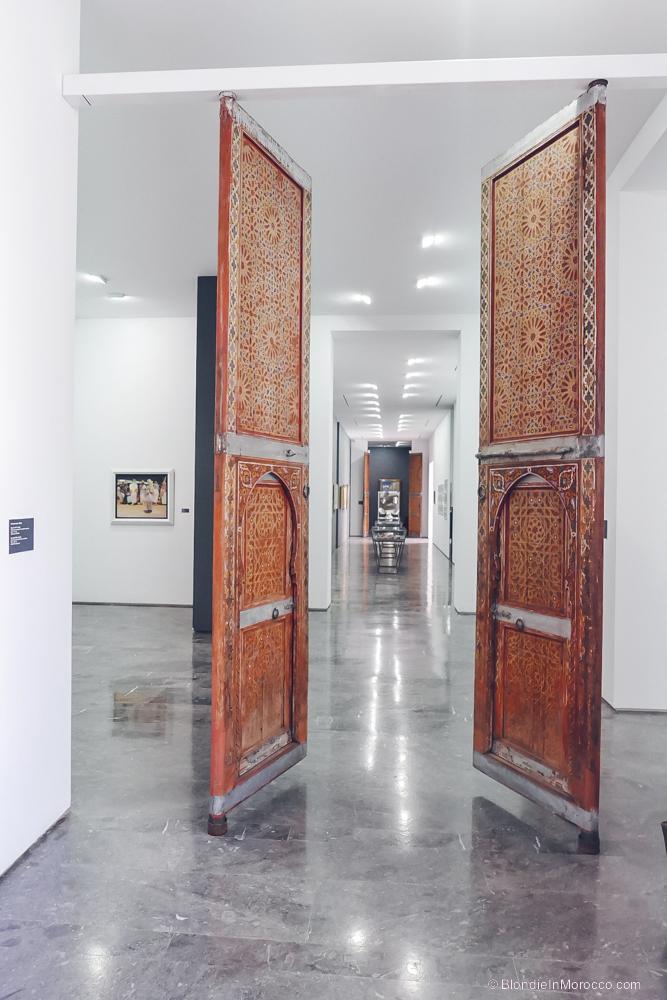 macma museum morocco door art