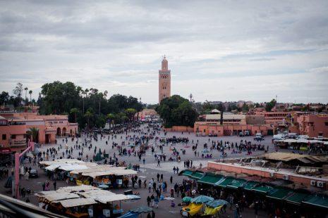 Marrakech Jemaa el-Fnaa sqaure