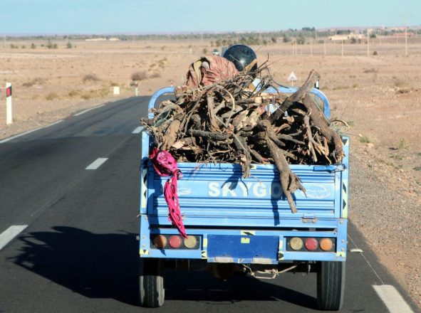 morocco road vehicle