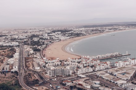 agadir morocco view city