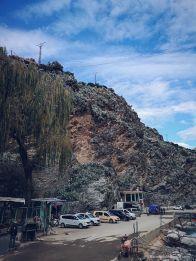 Setti Fatma - vieta kur stovi taksistai į Marakešą