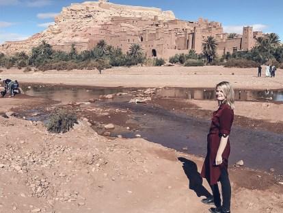 Ait Ben Haddou kasbah morocco girl