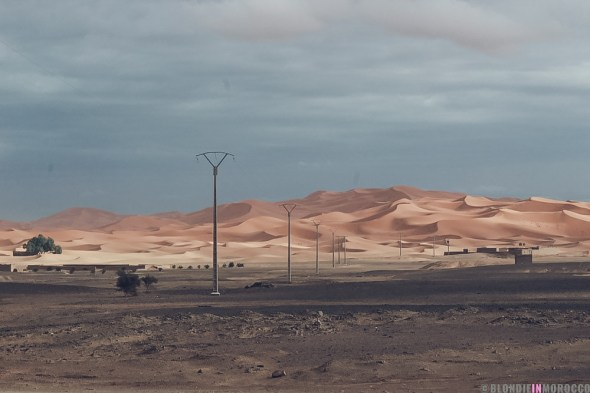 morocco desert dunes merzouga