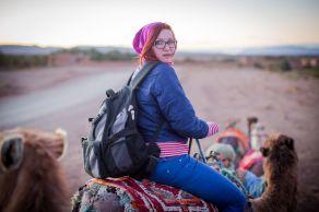 camels, desert, morocco, people, sand, ride, girl