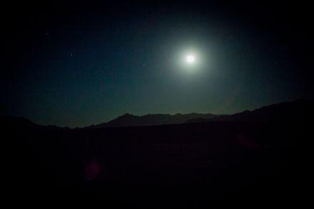 desert, night, morocco, stars, moon