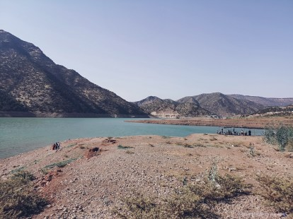 Ouirgane, morocco, lake, artificial