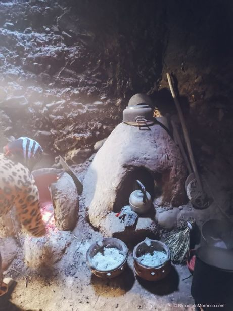 oven, clay, fire, morocco