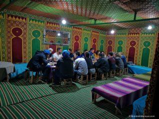 sahara desert camels sand dunes morocco berbers camp dinner