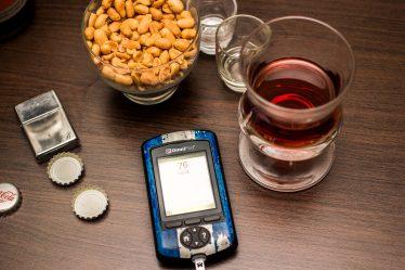 Auwirkung von Alkohol und Diabetes - Diabetes mellitus