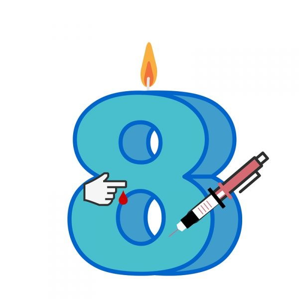 Diabetes-Geburtstag