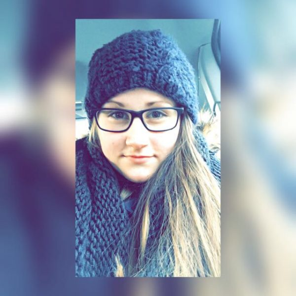 Annika mit Brille