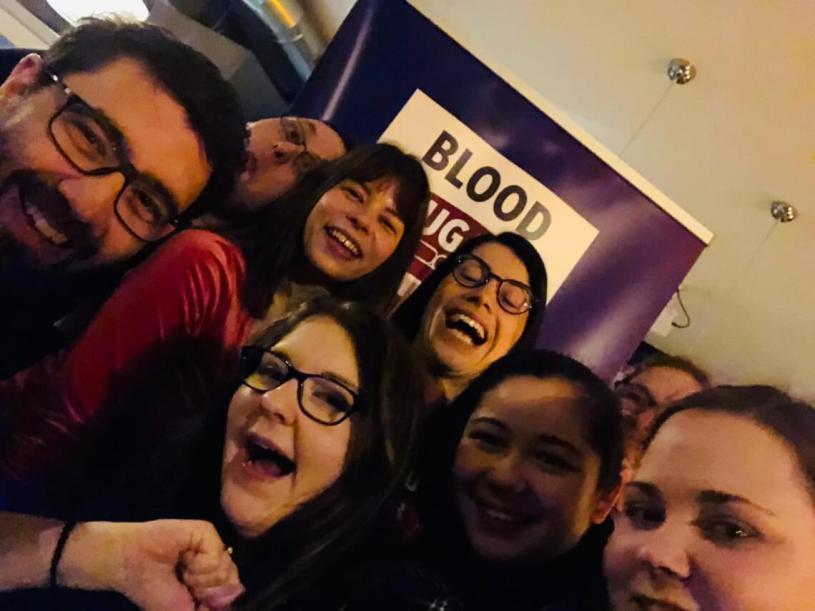 Selfie beim Medtronic-Meetup