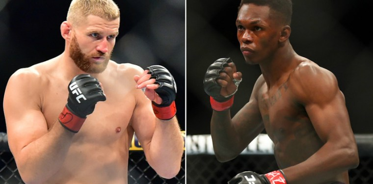 Predictions from fighters for the fight Jan Blachowicz vs. Israel Adesanya