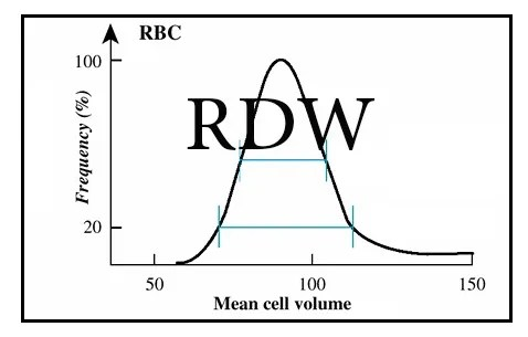 RDW curve
