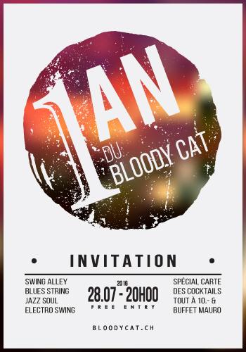 Affiche 1 an Bloody Cat