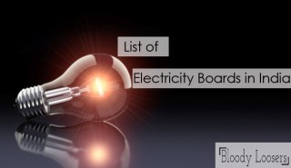 List of Electricity Boards in India