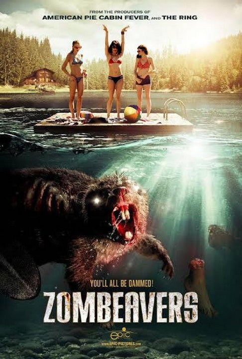 Zombeavers Movie Poster