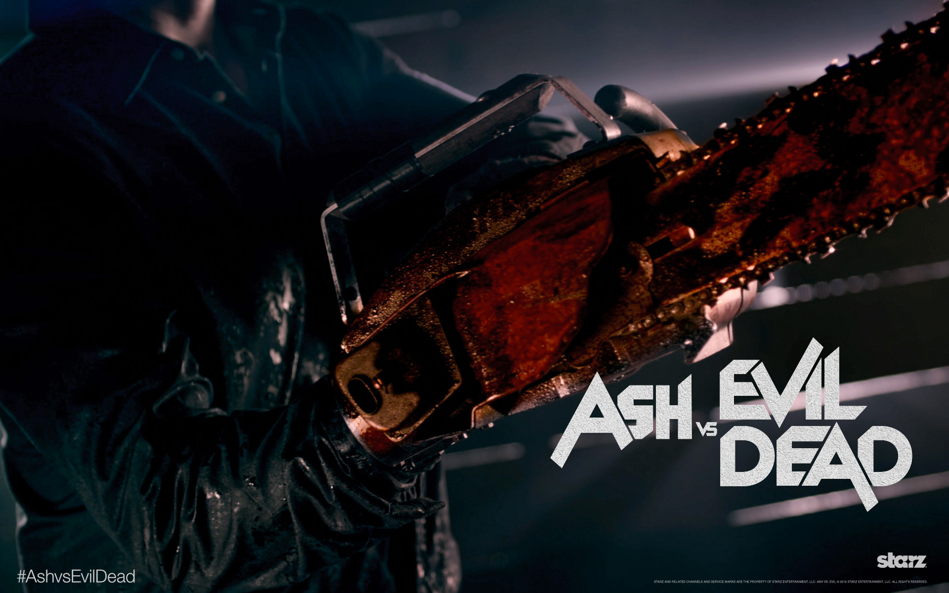 Ash Vs Evil Dead The Camp The Mayhem The Main Man Ash Williams Is Back Bloody Whisper