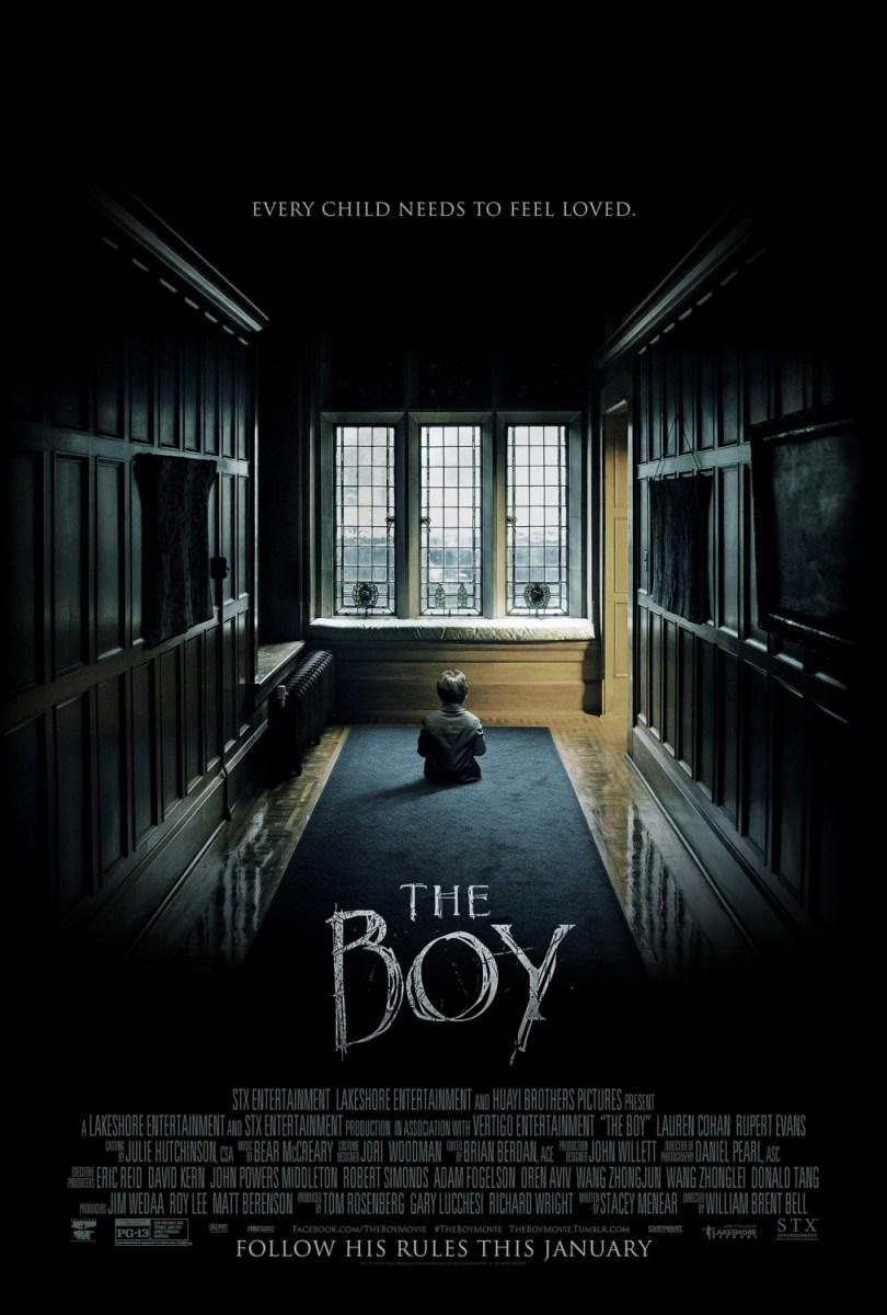 The Boy: A Possessed Doll, A Nanny, and A Crazy Masked Stalker?