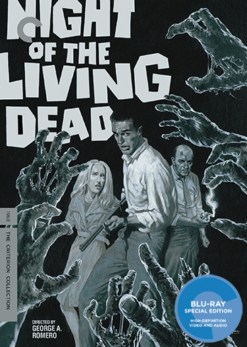 Night of the Living Dead Criterion Collection Blu-Ray
