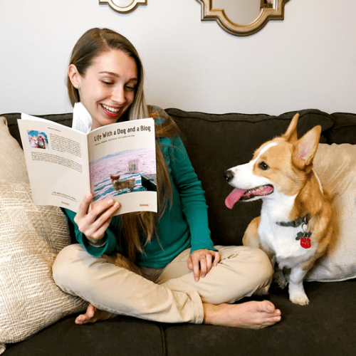 Life with a dog and a blog - Melody and Gatsby rad their blook