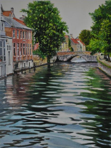 andy-smith-painting-water-bridge