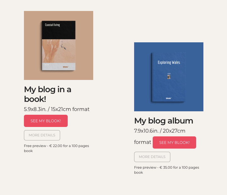 Print your Blog Book or Album with BlookUp - Blookup Blog