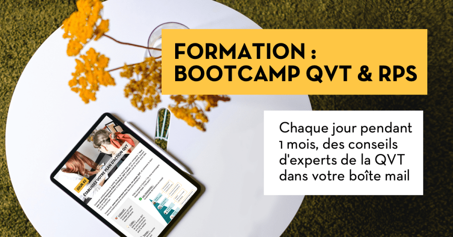 Bootcamp - formation QVT