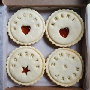 Newborn Welcome Biscuits by Bloom Bakers